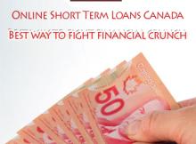 Online Short Term Loans Canada - Best way to fight financial crunch