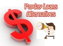 Payday Loans Alternatives