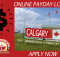 Payday loans Calgary - For immediate Canadian financial needs