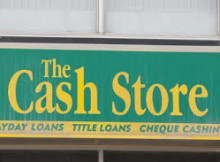 High cost brokered loans cancelled by Cash Store in Edmonton