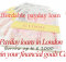 Payday loans in London - Entertain your financial goals Canada