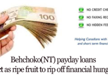 Behchoko(NT) payday loans can act as ripe fruit to rip off financial hunger