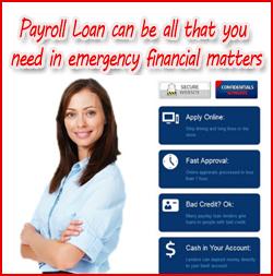 Payroll Loans in emergency financial matters