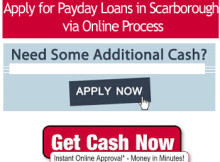 Payday Loans in Scarborough via Online Process